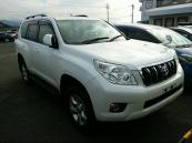 Japanese used car Ref# 424909 TOYOTA / LAND CRUISER PRADO