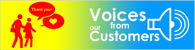 Voices from our Customers